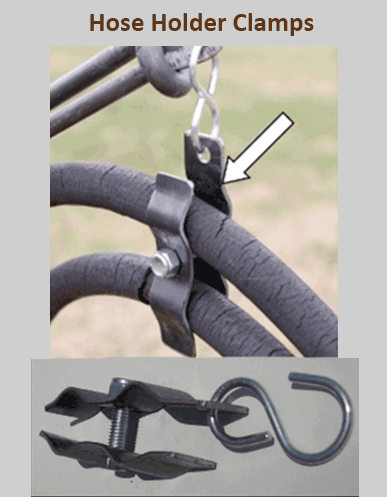 Hose Holder Clamps