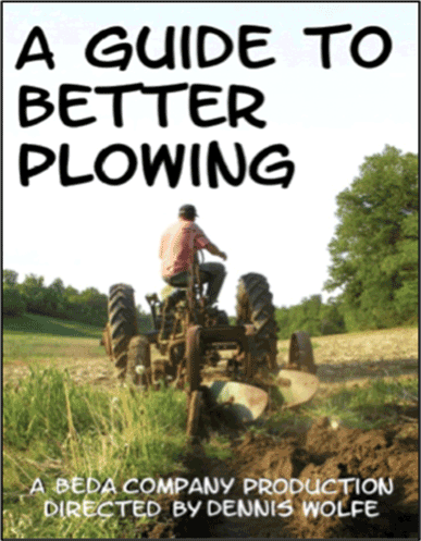 A Guide to Better Plowing DVD